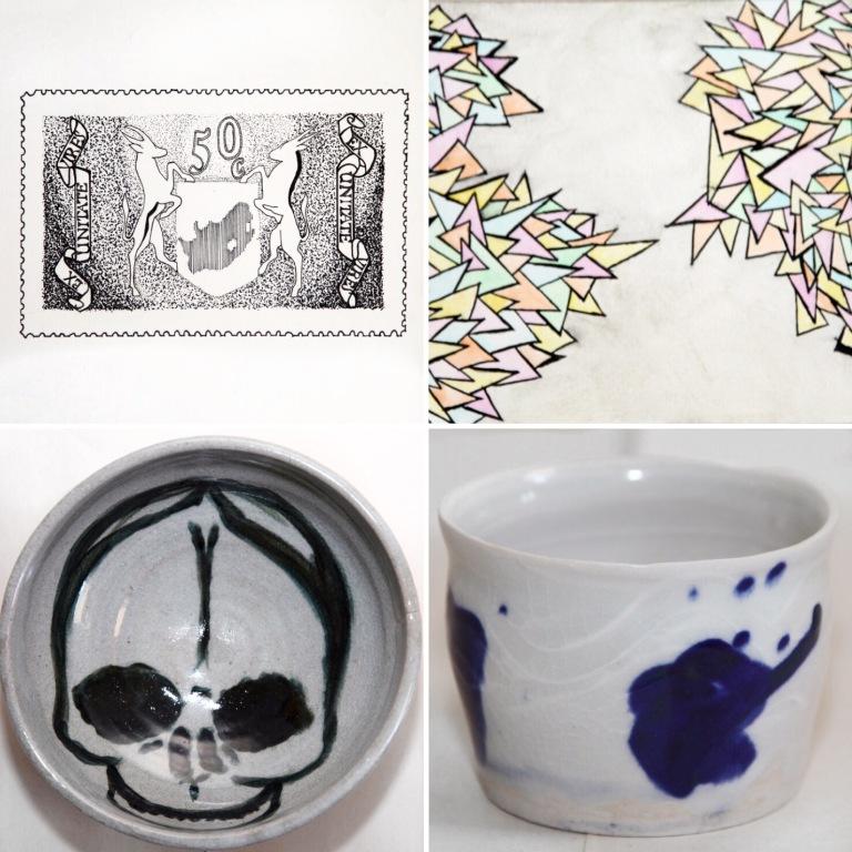 (Some of her many artwork displayed on her website)